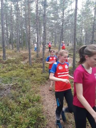 A bit more training near the club hut